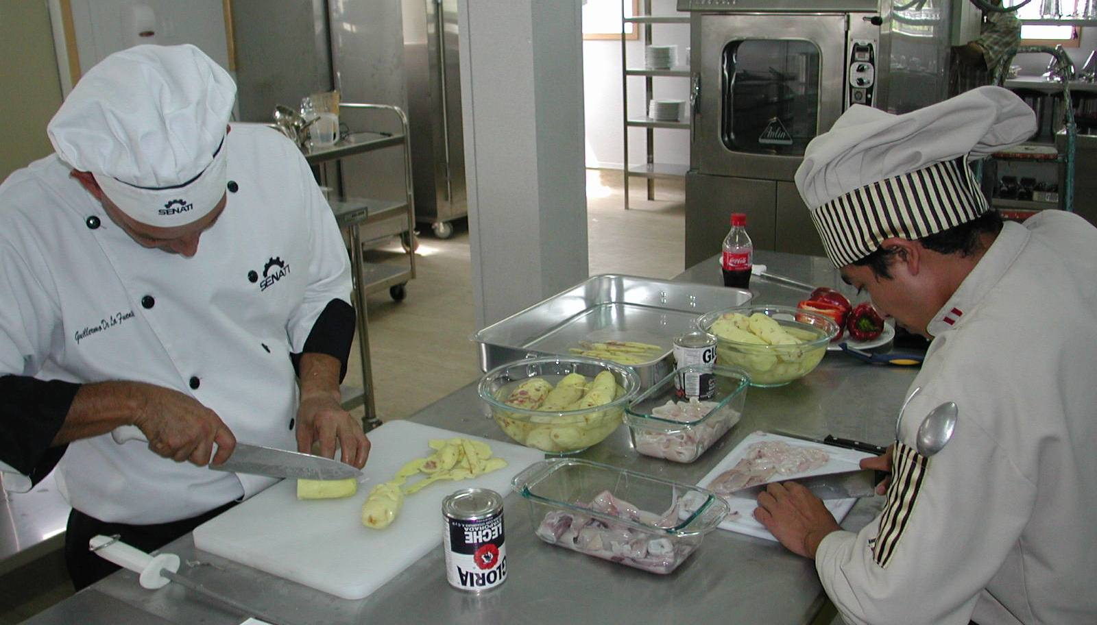 Senati apuesta por la carrera de t cnico en cocina - Tecnico en cocina y gastronomia ...
