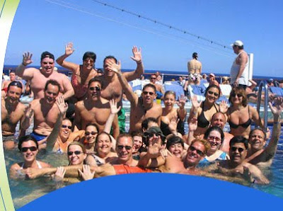 IHS INTERNATIONAL HOTEL MANAGEMENT SCHOOL Crew Partyon Cruise Ship - Cruise ship party