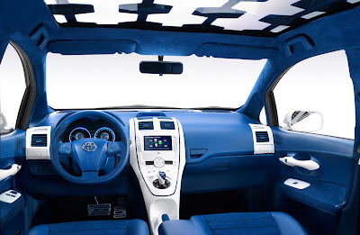 new 2010 Toyota Auris: All The Details, Full-Hybrid Version   popular car