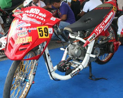 Any kinds of picture modification racing looks and drag look  concept thaiand's