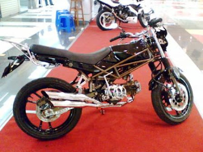 Contest Honda Win Modification Picture