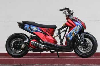 New Mio Soul Full Modification Low riders concept