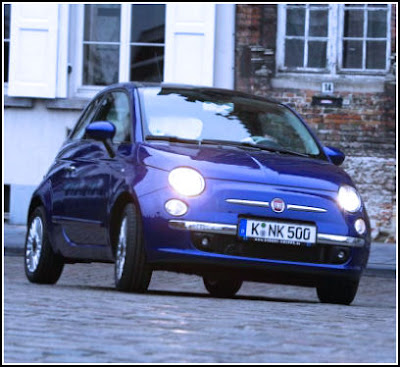 "New Fiat 500 ""Blue Dream"""