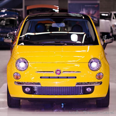 Fiat 500 Usa. New Fiat 500 US - 2011