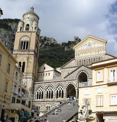 Amalfi, catedral Santo Andre, catedrais medievais