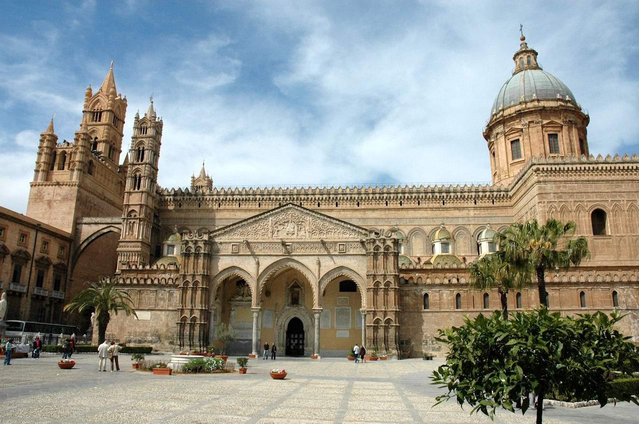Catedral de Palermo, na Sicília.