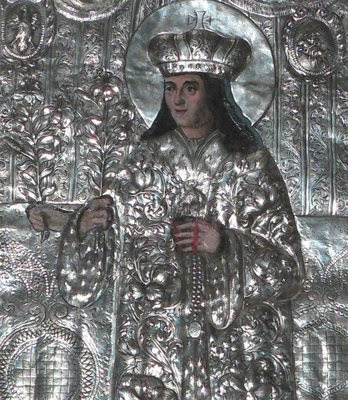 São Casimiro, catedral de Vilnius, Lituânia. Heróis medievais