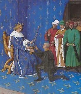 Bertrand du Guesclin nomeado condestável por Carlos V