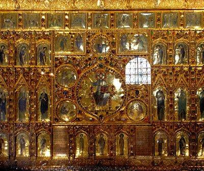 Retábulo de Ouro, catedral de Veneza. Catedrais medievais