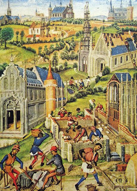 Construção cidades. A cidade medieval