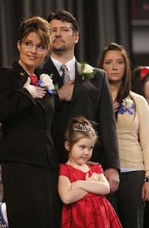 Sarah Palin com sua família