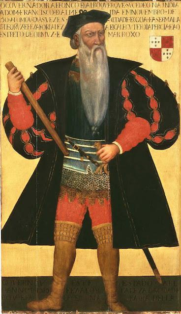 Afonso de Albuquerque, Heróis medievais