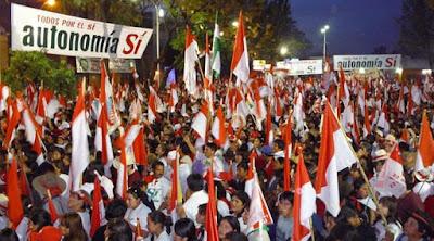 Oposicionistas de Tarija