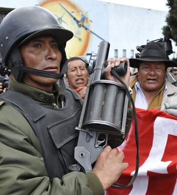 Exército da Bolivia tomou Cobija, reduto oposicionista