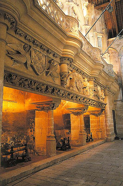 Tribunal de Poitiers, salle des pas perdus
