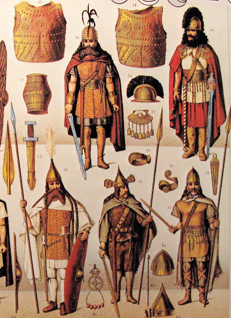 Bárbaros antes da cristianização.