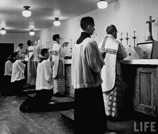 Seminario católico em Detroit, anos 50-60