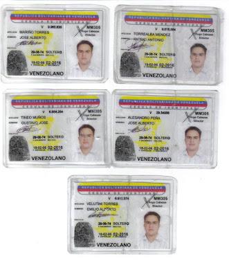 Carteiras de eleitor identicas com muitos nomes diversos, plebiscito 2009