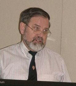 Bob Carter, professor de geologia na Universidade James Cook, Austrália