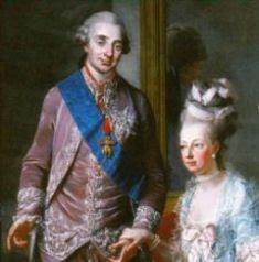 O rei, pai dos pais da França. (foto: Luís XVI e Maria Antonieta)