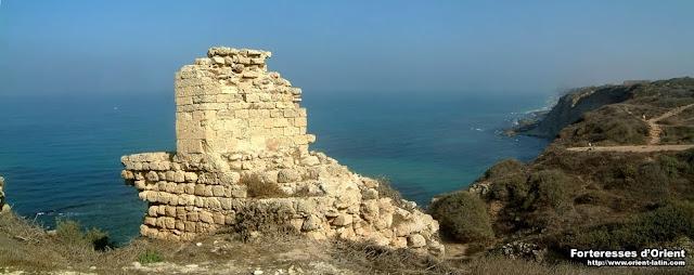 Ruínas da fortaleza de Arsur