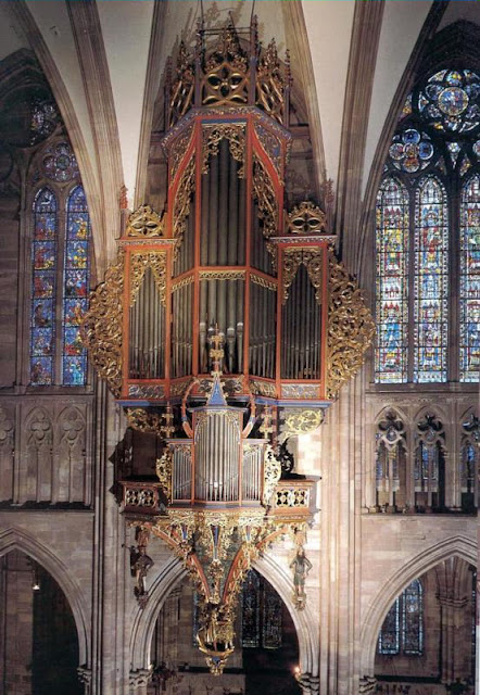 Órgão da catedral de Estrasburgo