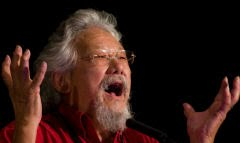 David Suzuki, lder contra os polticos que no aderem ao alarmismo climtico: