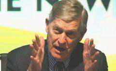 Timothy E. Wirth, ex-senador e ex-assessor de Al Gore, presidente da 'United Nations Foundation':