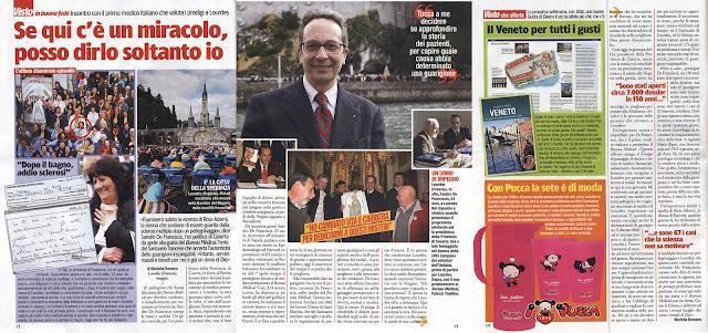 Dr. Sandro De Franciscis, novo responsável pelo Bureau Médico de Lourdes.