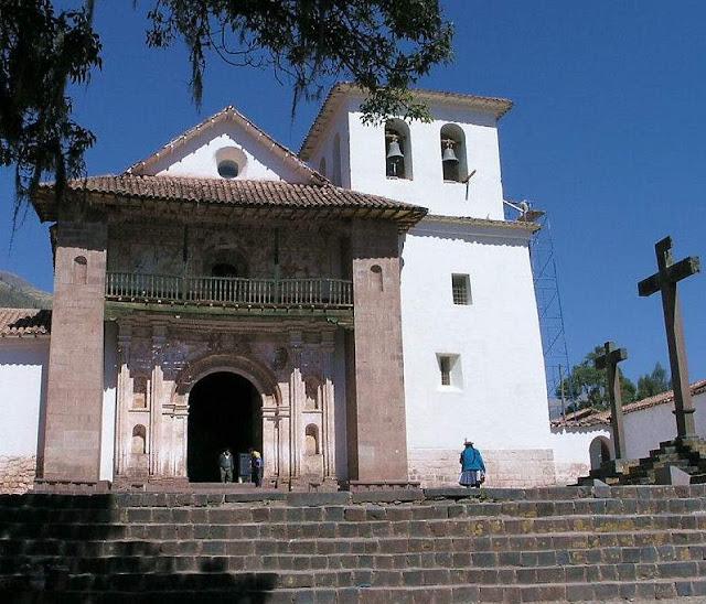 Igreja de São Pedro, Andahuaylillas,  onde foi cantado por vez primeira
