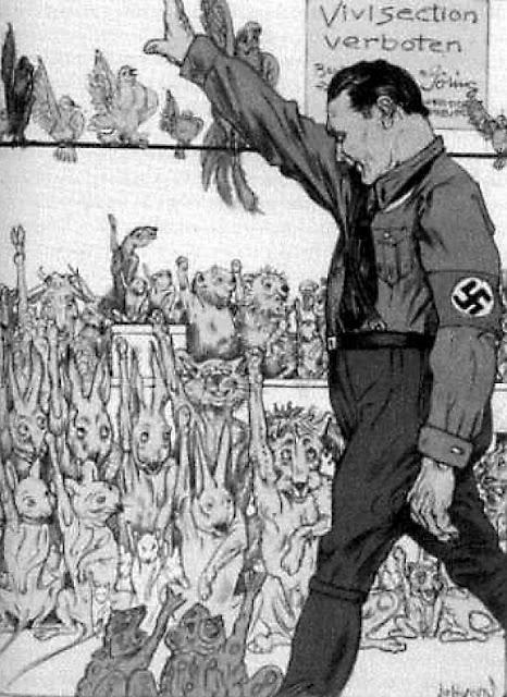 Himmler exigiu leis anti-vivisecção.