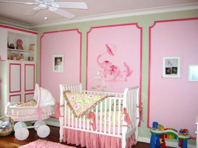 Nursery Designs on Design Dazzle Nursery Wall Ideas Above The Crib