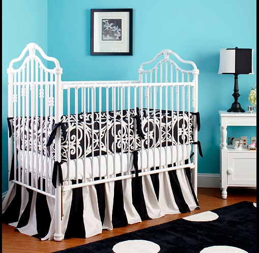 Black White Baby Nurseries Design Dazzle