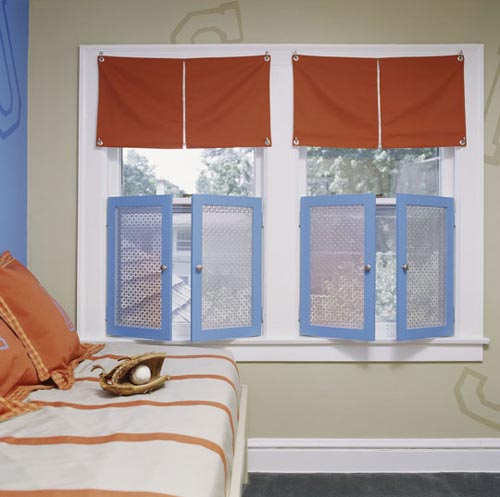Kids 39 window treatments design dazzle for Blinds for kids rooms