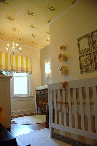 Baby Room on Design Dazzle  Vintage Mod Baby S Room