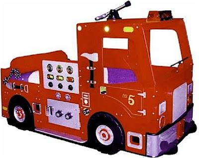 Fire Truck Bedroom on Fire Truck Bed