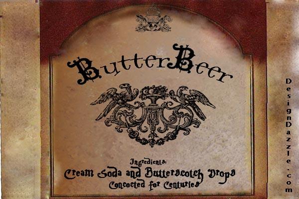 free-download-butterbeer-label