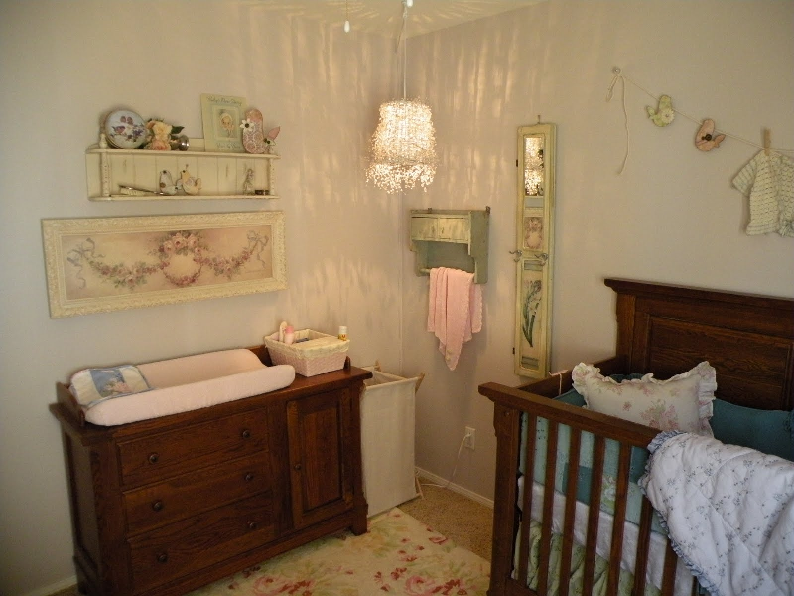 baby girl nursery on - photo #43