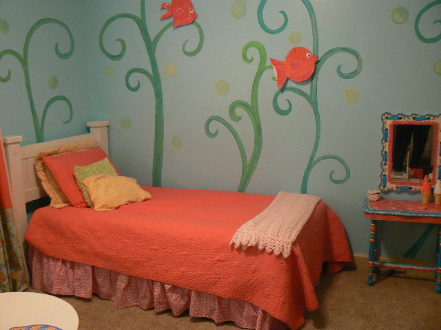 The color coral nurseries girl 39 s rooms design dazzle for 6 year girl bedroom ideas