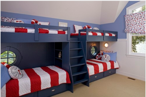 Bunk room ideas design dazzle Bunk room designs