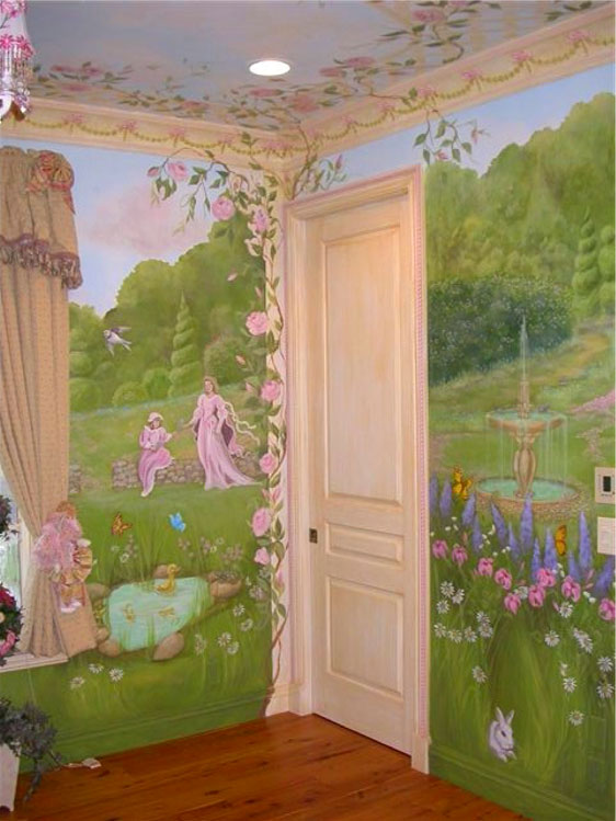 Princess Murals Design Dazzle