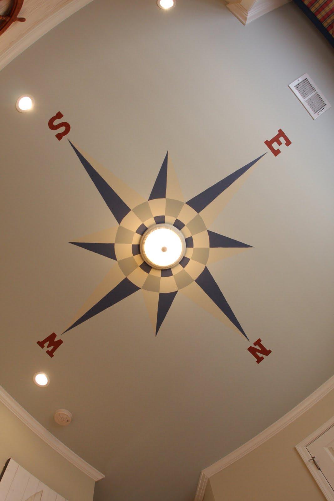Home sweet home nautical baby nursery - Painting nursery ceiling ideas tips ...