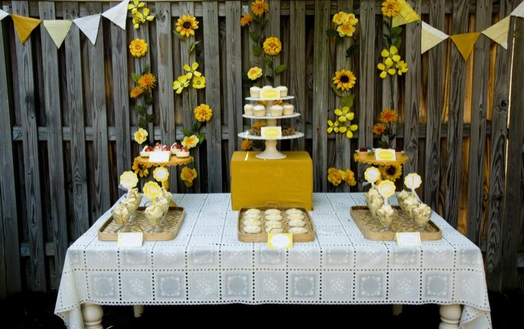 Sunshine 1st Birthday Party  Design Dazzle ~ 214418_Birthday Party Ideas Yellow