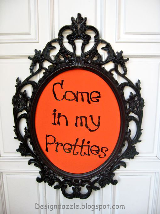Come On In Party Sign Images & Pictures  Becuo ~ 040555_Halloween Door Sayings