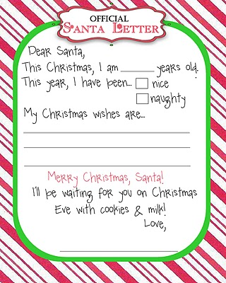 Design baby room gazee have your child write a letter to santa and save their letter for the future when it will be fun to reminisce let them think they are mailing the letter to spiritdancerdesigns Images