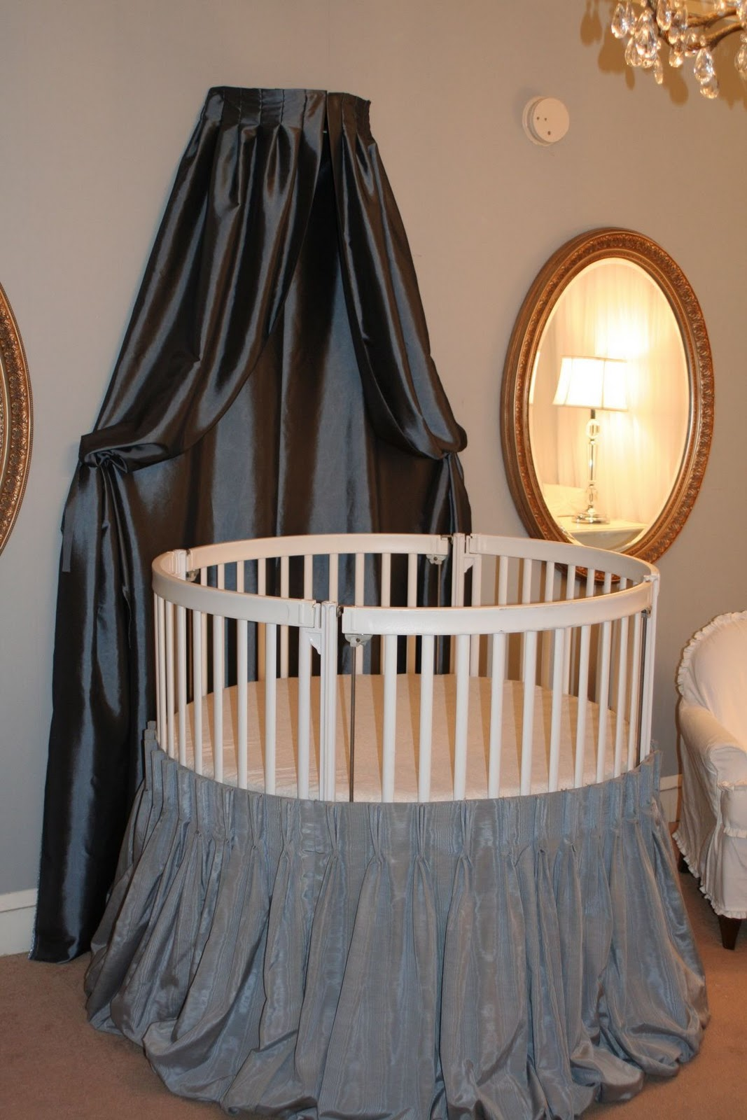 Girls Blue Baby Nursery Ideas
