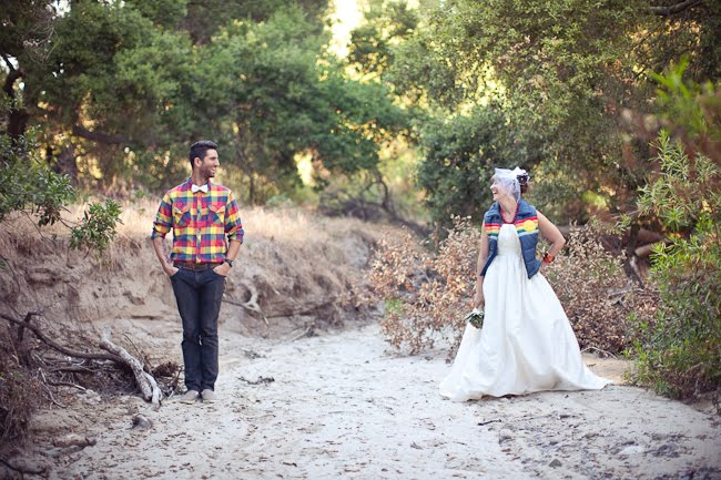 Jl Designs A Campground Wedding Photo Shoot