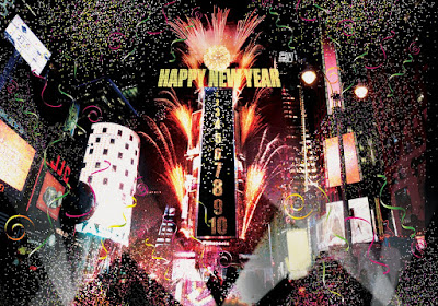 New Year in New York City, USA