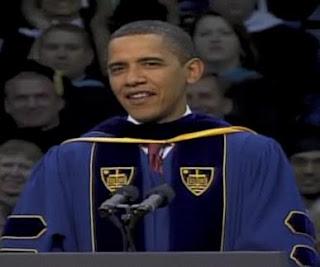 Obama at Notre Dame
