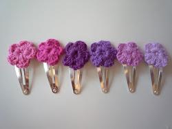 DIY blomster hårspænde.